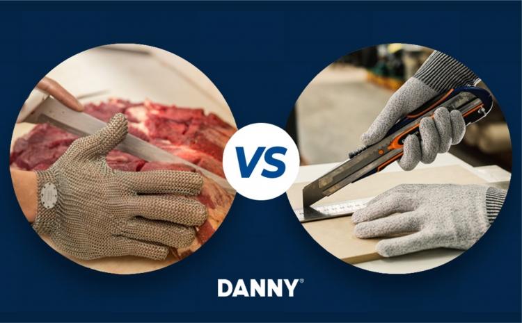 Luvas de malha de aço vs luvas com proteção contra corte: qual a diferença?
