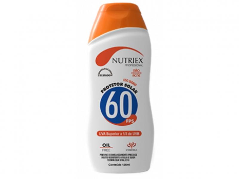 Protetor Solar Nutriex FPS 60 Profissional