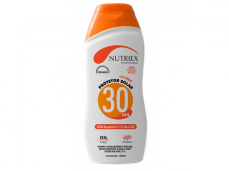 Protetor Solar Nutriex FPS 30 Profissional