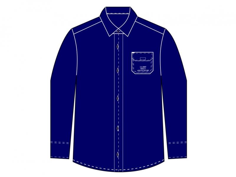 Camisa Safe Slim Mundi Work sem refletivo - Risco 2
