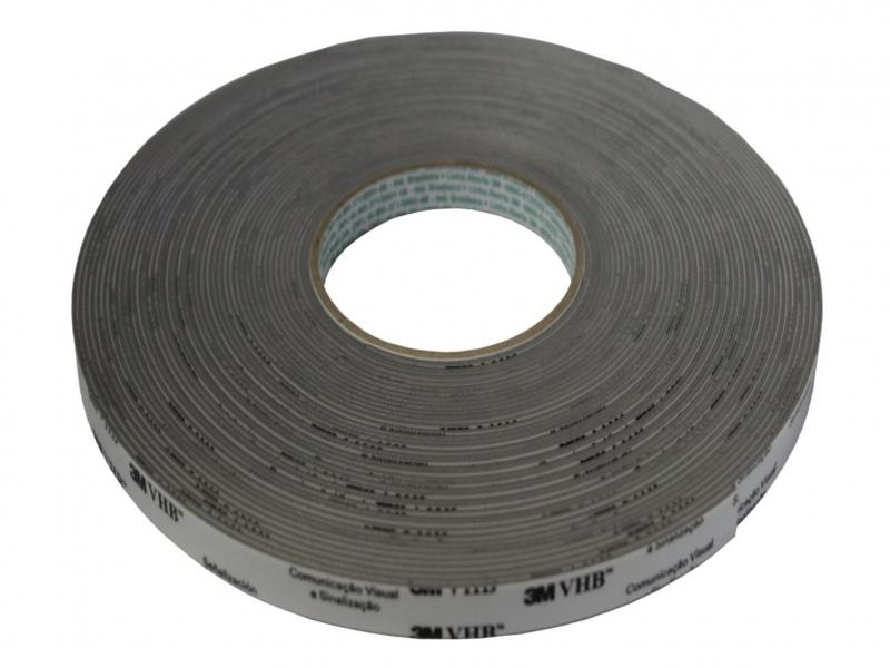 Fita VHB 3M 4943 1,1mm Cinza