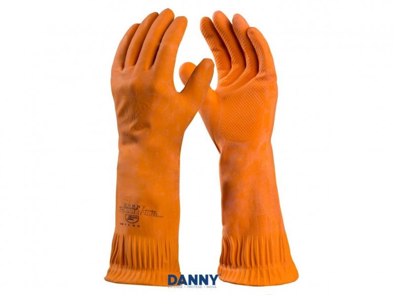 Luva de Segurança Danny Max Orange Longa