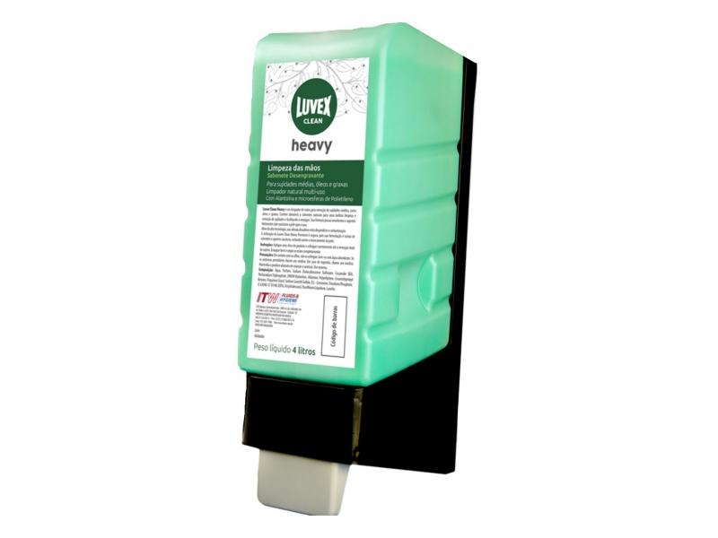 Sabonete Desengraxante Luvex Clean Heavy